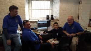 Paul, John, James and Garry at JOTA 2014