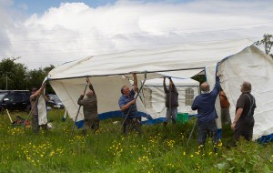 TSGARC Tent Erection
